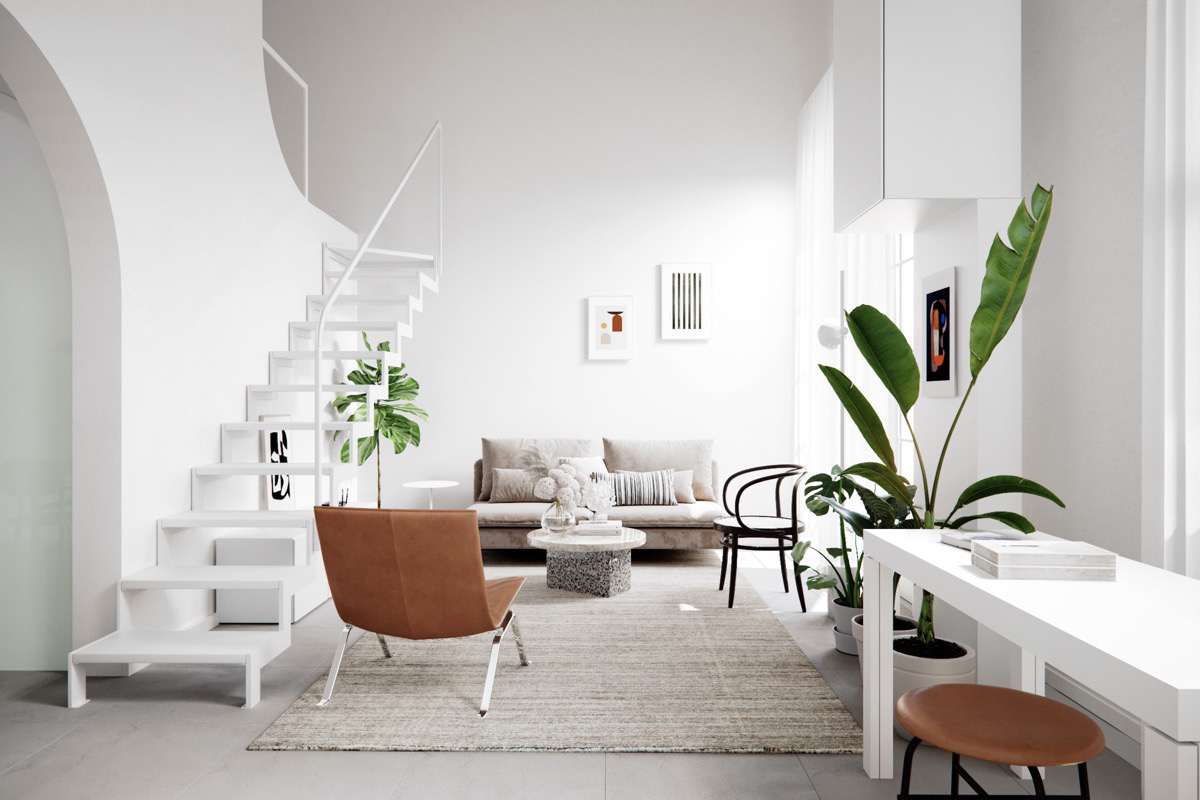 modeling the interior environment of the house