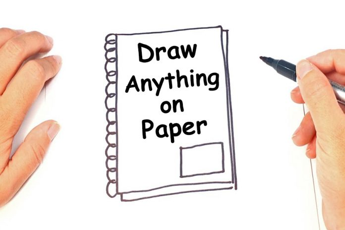 Draw Anything on Paper